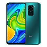 "Xiaomi Redmi Note 9 - Smartphone de 6.53"" FHD (DotDisplay, 4 GB RAM, 128 GB ROM, cámara Quad de 48 MP, Hotshot 3.5 mm, Headphone Jack,..."